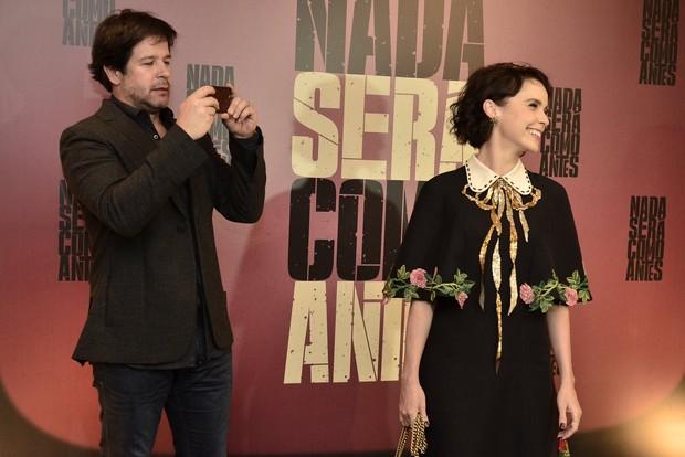 Débora Falabella e Murilo Benício (Foto: Roberto Teixeira / Ego)