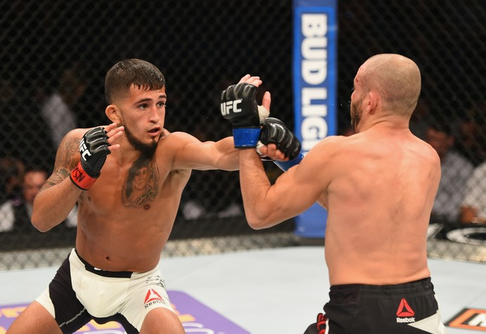 Sergio Pettis, Chris Kelades, UFC 197, MMA (Foto: Getty Images)