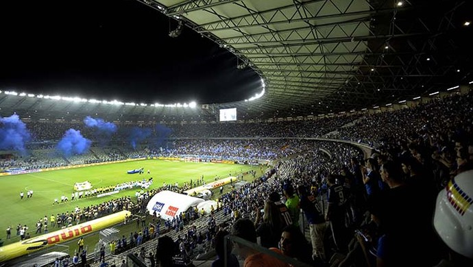 Cruzeiro x Atlético-MG no Mineirão (Foto: Gualter Naves / VIPCOMM)