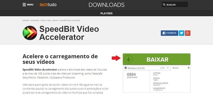 Como acelerar vídeos com o SpeedBit Vídeo Accelerator ...