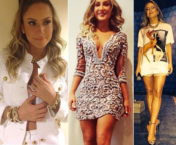 Claudia gosta de passear entre os estilos sexy e cool. (Foto: Reproduo / Instagram @renatothomaz)