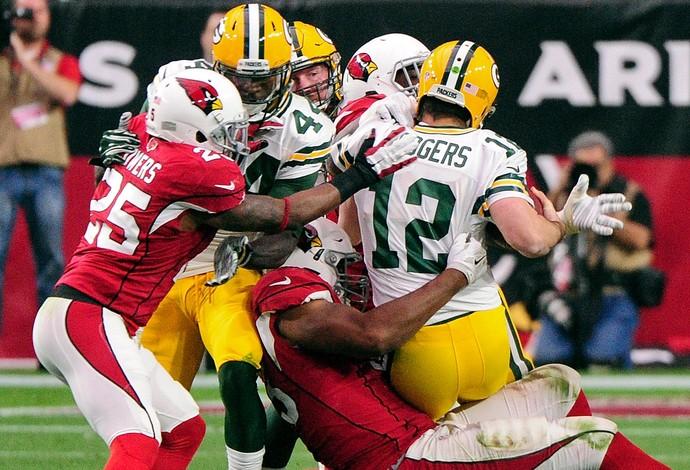Arizona Cardinals x Green Bay Packers - Aaron Rodgers - NFL (Foto: Reuters)