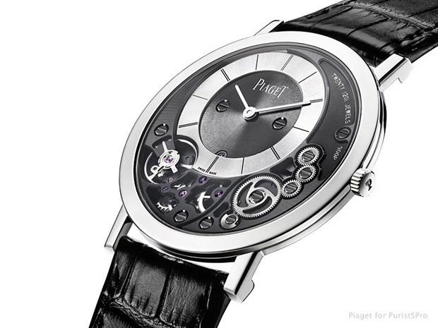 22dc8cb832d Piaget Altiplano 900P  o relógio mecânico mais fino do mundo - GQ ...
