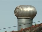 Exaustor é instalado em cadeia superlotada no norte do Paraná