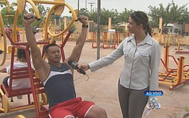 O educador físico falou sobre como se exercitar corretamente. (Foto: Bom Dia Amazônia)