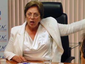 Rosalba Ciarlini rebateu críticas dos membros do Conselho Federal de Medicina e Federação Nacional dos Médicos (Foto: Ricardo Araújo/G1)