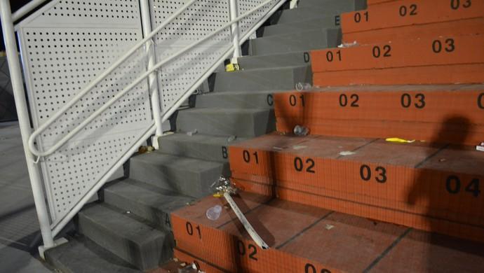 Estádio Nogueirão Mogi das Cruzes São Paulo x Rondonópolis (Foto: Vitor Geron)