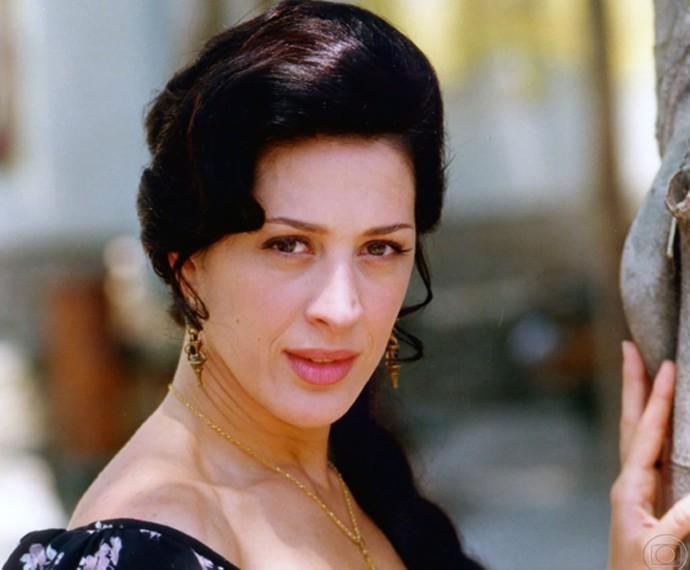 Claudia Raia como Hortência, de Terra Nostra (Foto: CEDOC/TV Globo)