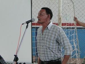 Teodoro Lalor Liderança Quilombola Marajó Pará (Foto: Divulgação)