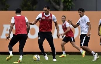 Ricardo Oliveira volta, e Santos tem 23 relacionados para encarar Atlético-PR