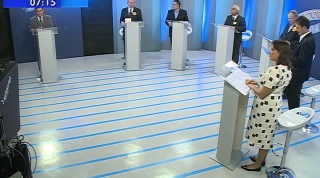 Último debate entre os candidatos ao governo de SC é realizado pela RBS TV