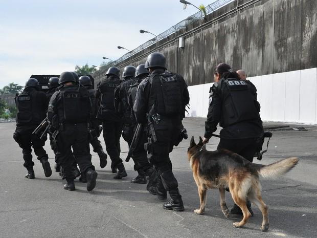 Grupo foi orientado por 10 dias na Cidade da Polícia (Foto: Divulgação/ Seap)