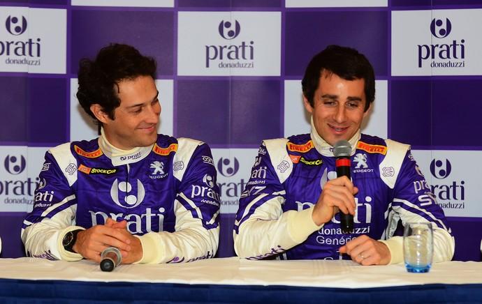 bruno Senna e nicholas Prost stock car (Foto: Miguel Costa Jr./MF2)