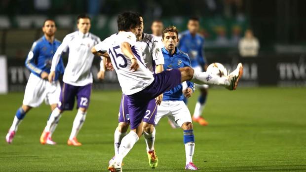 Palmeiras e Fiorentina, Copa euroamericana (Foto: Marcos Ribolli)
