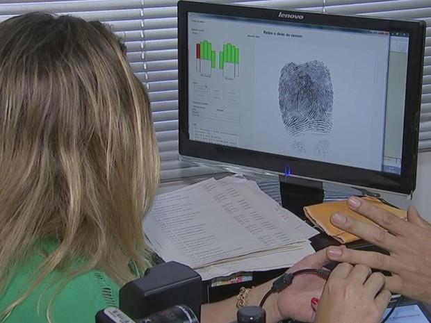 Eleitores da cidade precisam fazer biometria para votar em 2018 (Foto: Reprodução/ TV TEM)