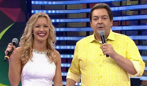 Ju Valcézia e Fausto Silva (Foto: Reprodução/Instagram)