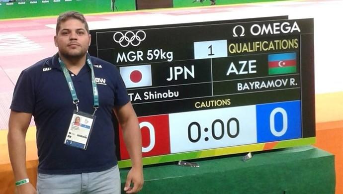 Ramon Denier - arbitro da luta olímpica (Foto: Divulgação)