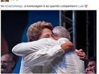 No Dia do Amigo, Dilma e Lula postam foto abraçados no Facebook