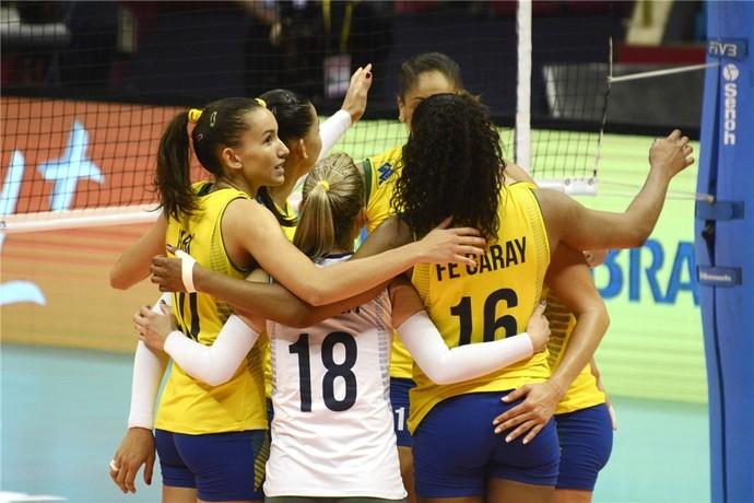 Brasil x Bélgica grand prix vôlei (Foto: Divulgação / FIVB)