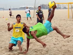 Datinha seleção brasileira de futebol de areia (Foto: Maurício Val)