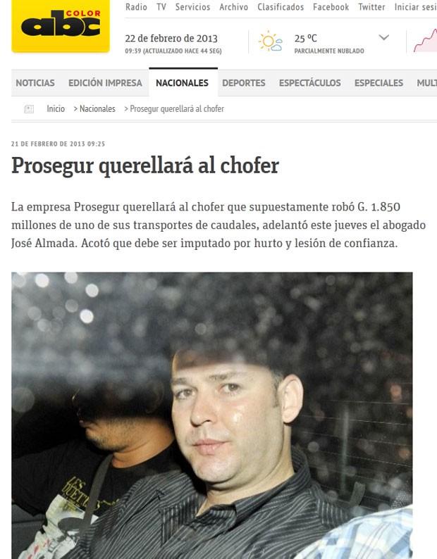 Carlos González é acusado de roubar cerca de R$ 920 mil (Foto: Reprodução)