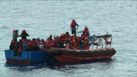 União Europeia se recusa abrir portos para a entrada de migrantes