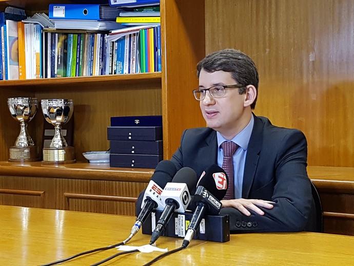 Marcelo Franklin advogado CBDA (Foto: João Gabriel Rodrigues)