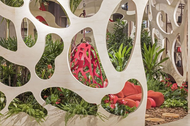 Louis Vuitton abre loja inspirada em criação dos Irmãos Campana (Foto: Divulgação)