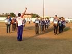 Bandas e fanfarras disputam título de campeã em concurso, em Ariquemes
