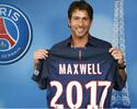 PSG anuncia renovação com o lateral-esquerdo Maxwell por uma temporada