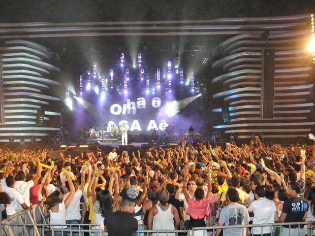 Asa de Águi não teve as tradicionais surpresas de palco de Durval Lelis (Foto: Divulgação/Eduardo Freire/Ag. Edgar de Souza)