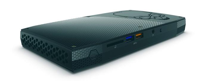 Jeitão de console não é acidente: Nuc Skull Canyon é versão gamer do mini PC da Intel (Foto: Divulgação/Intel) (Foto: Jeitão de console não é acidente: Nuc Skull Canyon é versão gamer do mini PC da Intel (Foto: Divulgação/Intel))