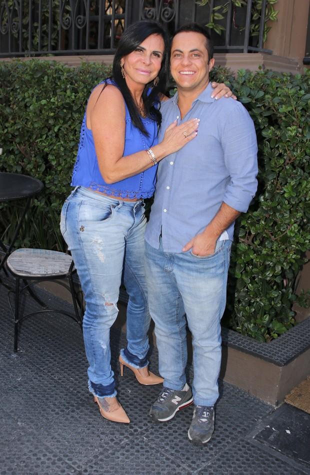 Gretchen e Thammy (Foto: Thiago Duran/AgNews)