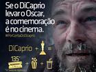 Se DiCaprio vencer Oscar, shopping promete sessão de graça no ES