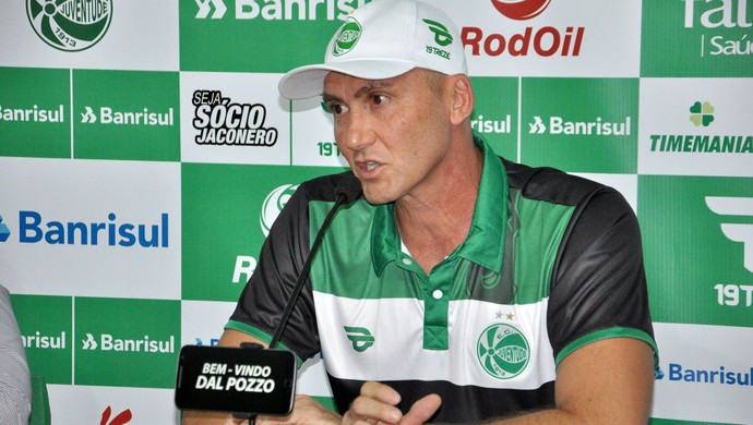 Gilmar Dal Pozzo técnico Juventude apresentação (Foto: Arthur Dallegrave / E.C. Juventude)