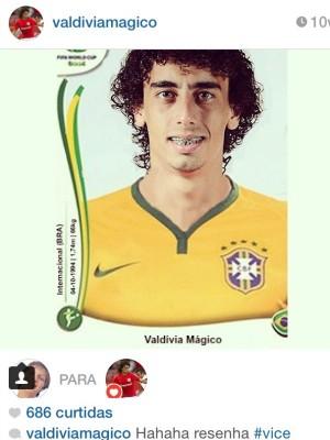 Rodaika Valdívia Inter Poko Pika Mistura com Rodaika (Foto: Reprodução/Instagram)