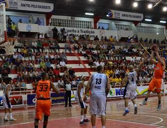 Taboada São José x Goiânia NBB Basquete (Foto: Danilo Sardinha)