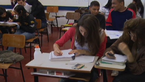 Avaliao do Ideb analisa ensino mdio e fundamental no Brasil (Foto: Reproduo Globo News)