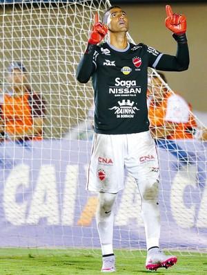 Edson, goleiro do Vila Nova (Foto: O Popular)
