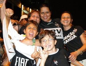 festa torcida do atlético-mg (Foto: Lucas Catta Prêta / Globoesporte.com)