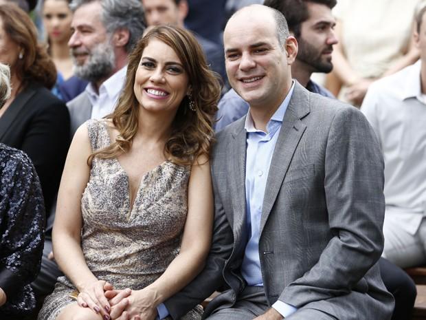 Suzana e Fernando confirmaram um amor puro e muito companheiro (Foto: Raphael Dias/ Gshow)