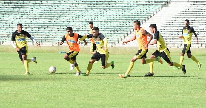 Treino Flamengo-PI (Foto: Jailson Soares/O DIA)