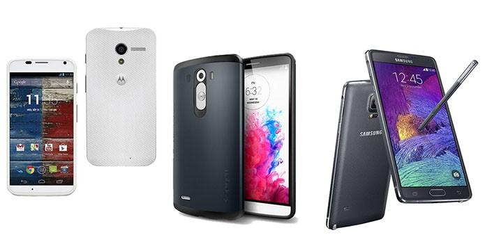 Valor compra vários smartphones tops de linha (Foto: Divulgação)
