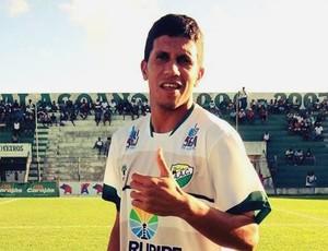 Aurélio, meia-atacante do Coruripe (Foto: Divulgação / Ascom Coruripe)