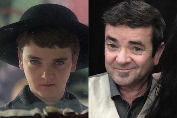 É assim que está o ator John Franklin, de 'Colheira Maldita', trinta anos após o lançamento do filme. (Foto: Divulgação e Reprodução/Instagram)