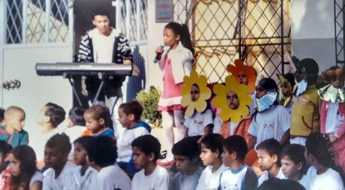 Malu Cavalcanti The Voice Kids (Foto: Arquivo pessoal)