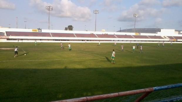 Itabaiana venceu o Coritiba-ITA: 3 a 0 (Foto: Matheus Lima)