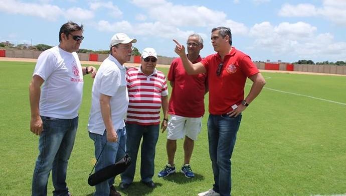 Beto Santos, candidato a presidente do América-RN (Foto: Divulgação/América-RN)