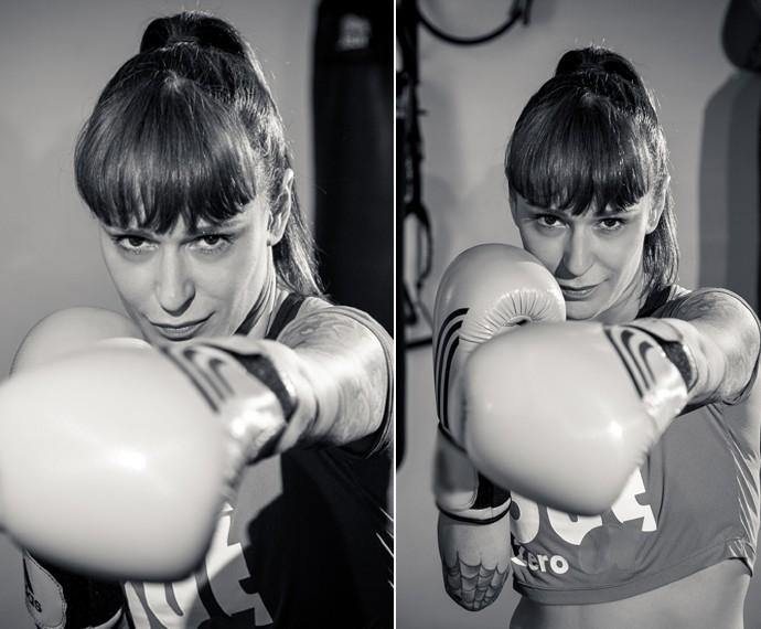 Ex-sister diz que perdeu 4 kgs desde que começou a praticar a luta (Foto: Isabella Pinheiro / Gshow)