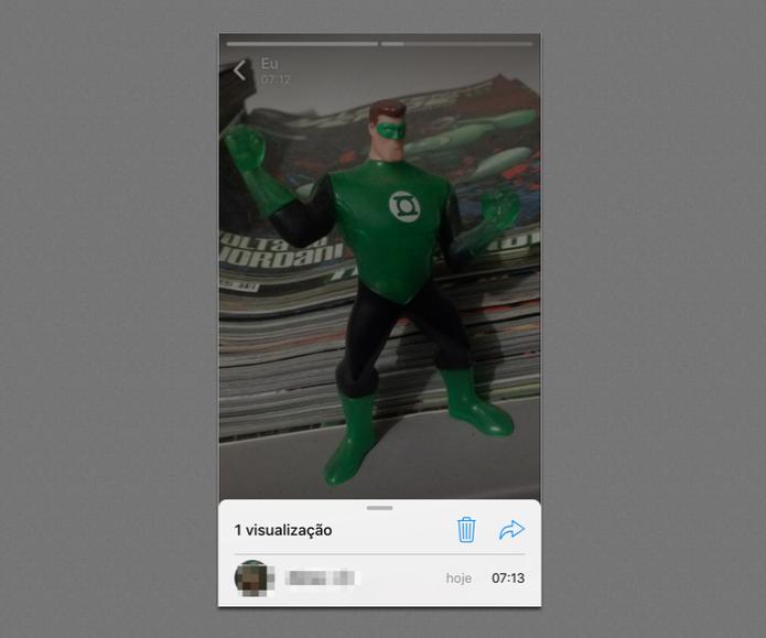WhatsApp Status: como descobrir quem olhou a sua foto ou vídeo (Foto: Reprodução/Felipe Vinha)